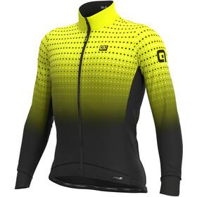 Alé Cycling PR-S Bullet Winter Maglia Jersey A Maniche Lunghe Uomo, nero/giallo